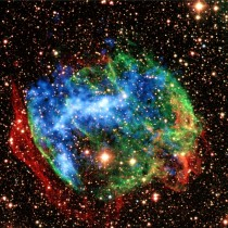 Beautiful Supernova remnant just  light years away from our Galaxy- WB