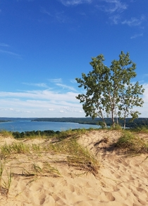Beautiful view at Sleeping Bear Dunes NP MI