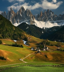 Beautiful View of Santa Maddalena Italy