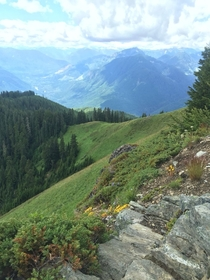 Beautiful views atop Evergreen Mountain at the fire lookout near Skykomish WA Photo by me x