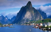 Beautiful Village in Norway Its Reine