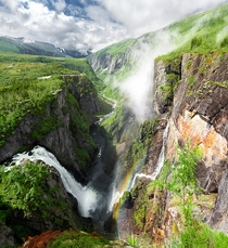 Beautiful waterfall in Norway Photo by PK Art