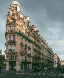 Beautifull buildings in Paris France