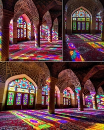Beauty beyond words The Nasir-ol-mulq Mosque Iran