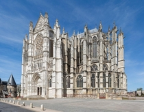 Beauvais Cathedral One of the tallest and most ambitious Gothic cathedrals Construction was halted permanently after second partial collapse in