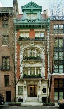 Beaux Arts Townhouse by Peter Pennoyer Architects New York City