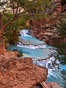 Beaver Falls Havasupai Indian Reservation Arizona