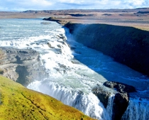 Because following a trend is fun and because I love Iceland my picture of gullfoss waterfall Iceland  x Hope you like it Im not a photographer to make things clear just a photograph lover who sometimes shoots pictures on vacation