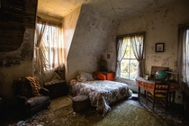Bedroom in a Mississippi Home Untouched Since its Abandonment