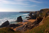 Bedruthan Steps Cornwall