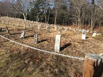 Been lurking awhile loving all your shares Heres a prison graveyard that haunted me every time I rode the rail trail Goffstown NH