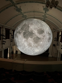 Been to see a high quality  view of the moon tonight In Ulverston Cumbria It was gorgeous and so detailed