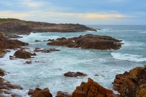 Before adulthood and fear and mortality I used to jump of that rock OC  Boat Harbour NSW Australia