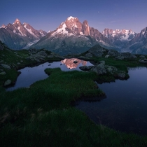 Before darkness - Chamonix France  by marcograssiphotography