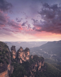 Before the fires - The three sisters Australia