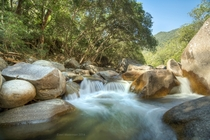 Behana Creek in the dry season Queensland Australia