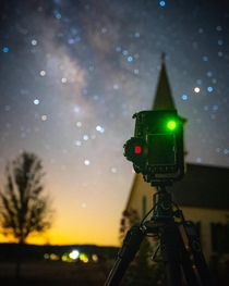 Behind the scenes of a Milky Way Time Lapse