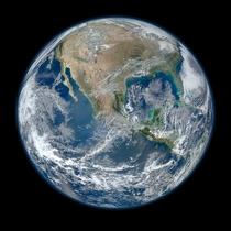 Behold one of the more detailed images of the Earth yet created