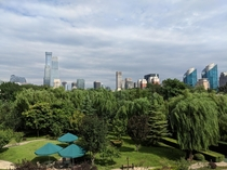 Beijing from the Embassy of Poland