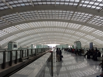 Beijing International Airport Subway Station
