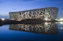 Beijing National Stadium AKA The Birds Nest - designed by Herzog amp de Meuron -