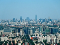 Beijing on a clear day july