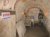 Beijing underground citybomb shelter that could accommodate all of Beijings six million inhabitants