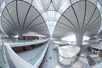 Beijings Daxing International Airport getting ready to open in Sept