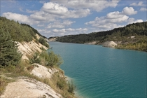 Belarus Krasnoselsky flooded quarry