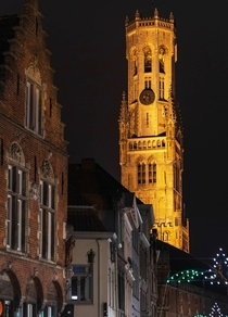 Belfry towers Old town Bruges