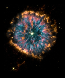 Believe It Or Not This Is The Dandelion Puffball Nebula NGC  It Is A Planetary Nebula In The Constellation Aquila
