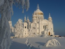 Belogorsk monastery in Perm Russia