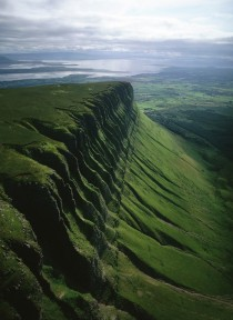 Ben Bulben a large rock formation in County Silgo Ireland x-post from rpics