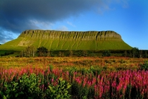 Ben Bulben in summer County Sligo Ireland photo by Bas Bartholomeus