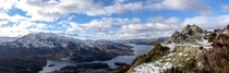 Ben Venue and Loch Katrine Scotland