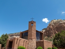 Benedictine Abbey of Christ in the Desert Designed by George_Nakashima near Abiquiu NM  x