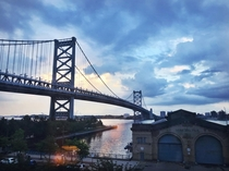 Benjamin Franklin Bridge Philadelphia US OC