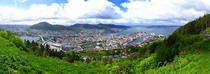 Bergen Norway - View from the Mountaintop