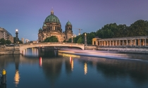 Berlin Cathedral and the River Spree  Photographed by Marcello Zerletti