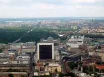 Berlin from the Fernsehturm TV tower