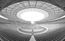 Berlin Olympic Stadium  photo by Vicente Moraga xpost rStadiumPorn