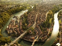 Bern Swiss capital demonstrating why you dont often see Switzerland in rCityPorn