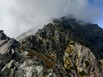 Best and worst hike in my life nearby Slavkovsky Stit High Tatras Slovakia