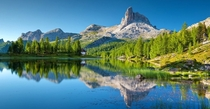 Best Mountains to ClimbLake FederaItaly