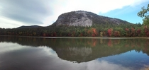 best picture Ive ever taken Conway New Hampshire echo lake white horse and cathedral ledge