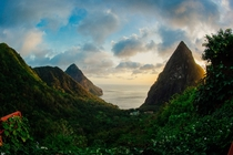 Between the Pitons St Lucia