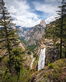 Between two trees in Yosemite National Park California Ignatureprofessor