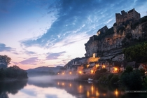 Beynac-et-Cazenac Dordogne France  Photo by Thierry Dulau xpost from rFrancePics