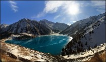 Big Almaty Lake Kazakhstan  photo by Vitaliy Rage