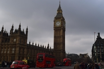 Big Ben on a cool February afternoon